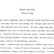 AROUND CHRISTMAS -1-